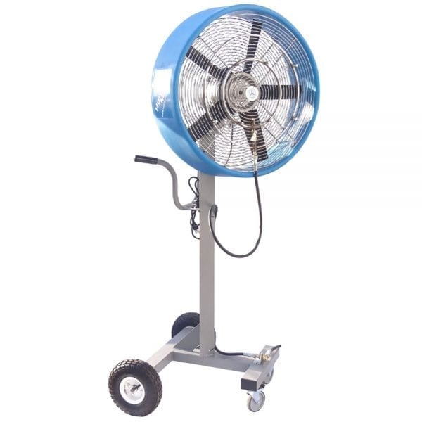 24″ Cool Zone Oscillating Industrial Misting Fan – Satellite