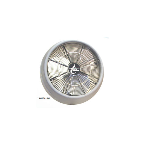 24″ Wall Mounted Molded Shroud Misting Fan